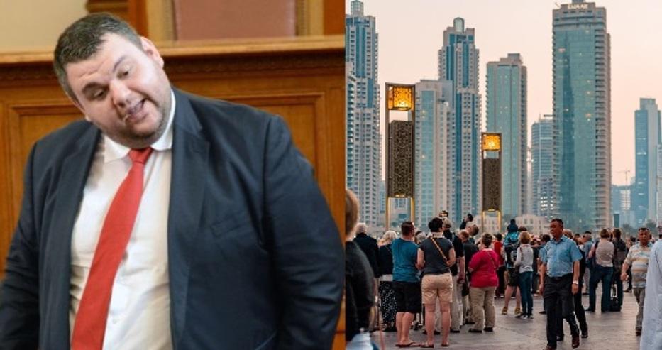 Журналисти твърдят: Делян Пеевски е пребит брутално в Дубай